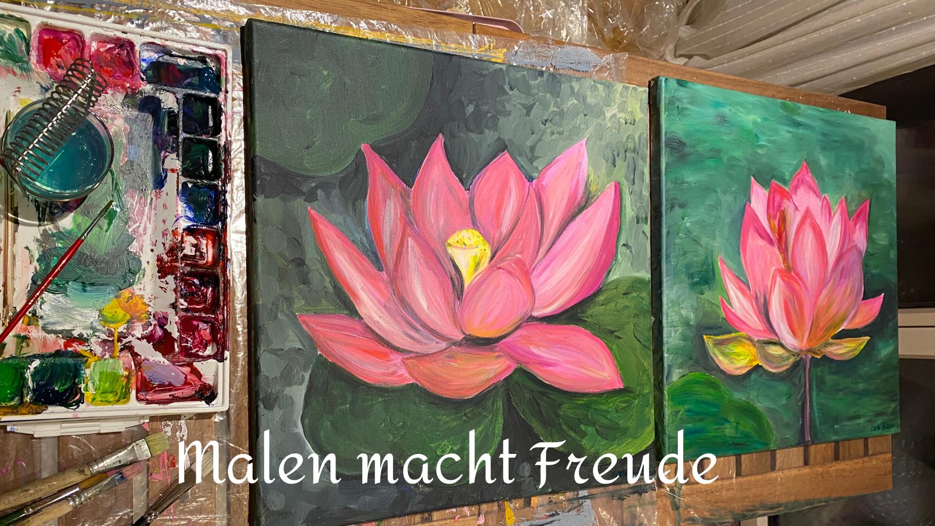 Malen macht Freude